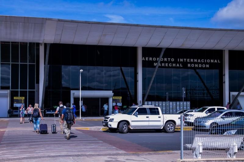 Aeroportos de MT seguem funcionando com medidas preventivas